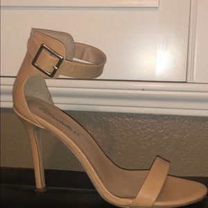 Tan Stiletto Heels